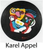 Karel Appel - Floating Family