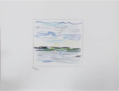 Roy Lichtenstein - Sky Land and Water