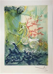 Salvador Dali (After) - Neptune