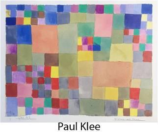 Paul Klee (After) - Flora Auf Stadt
