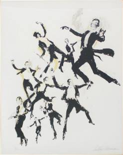 Leroy Neiman - Fred Astaire