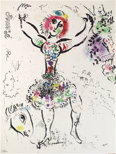Marc Chagall - Female Juggler