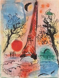 Marc Chagall - Vision of Paris