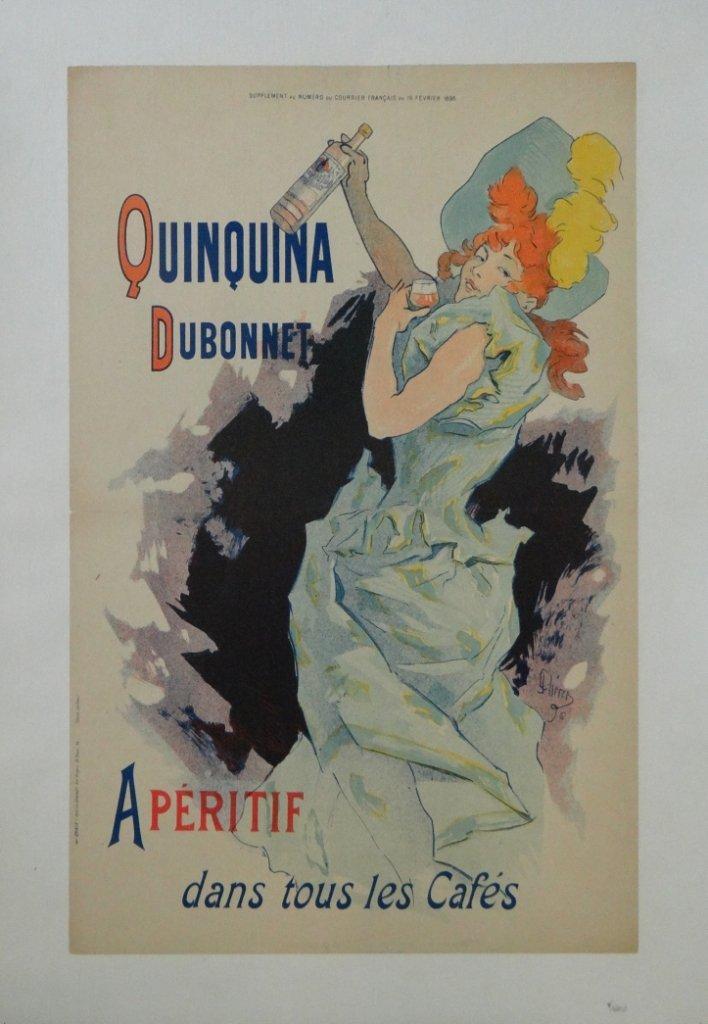 "4: ""Quinquina"" Vintage Poster"