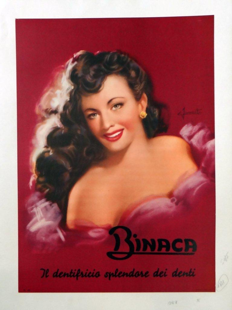 "5: ""Binaca"" Vintage Poster"