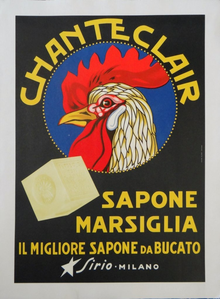 "7: ""Chanteclair"" Vintage Poster"