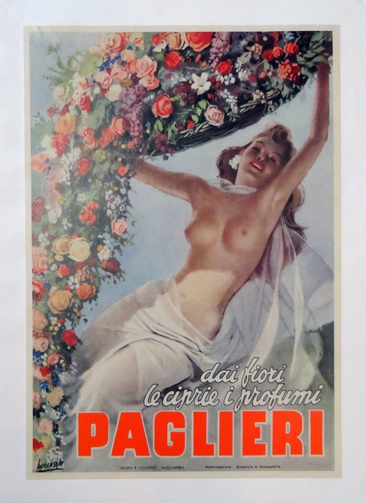 "9: ""Paglieri"" Vintage Poster"
