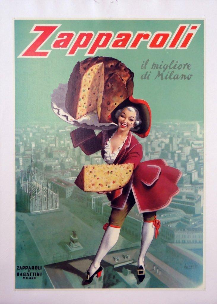 "10: ""Zapparoli"" Vintage Poster"