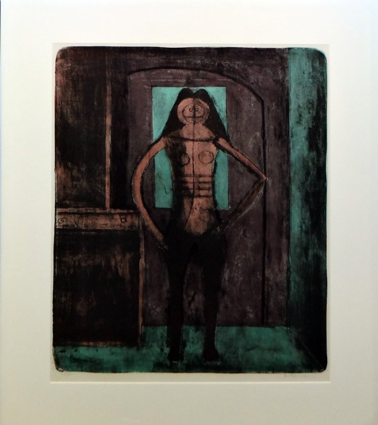 """13: Rufino Tamayo - """"Femme au Collant Noir"""" from Mujere"""