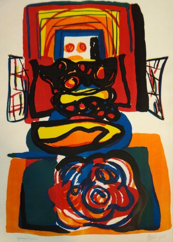 """23: Karel Appel - """"Le Grand Tete Rouge"""""""