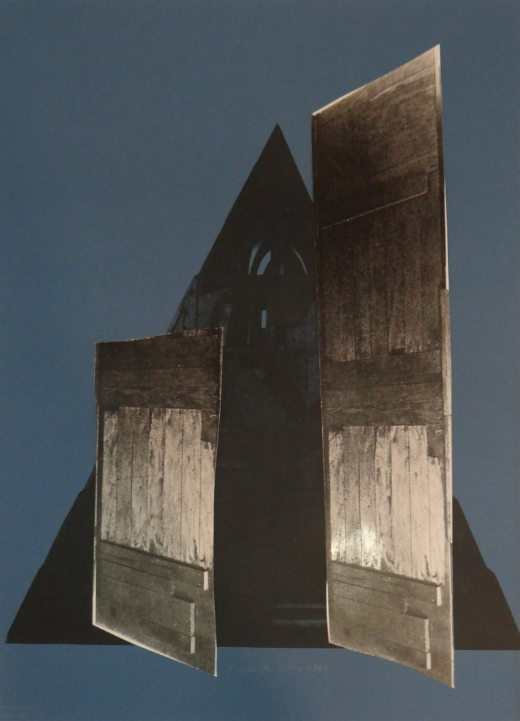"""24: Louise Nevelson - Untitled from """"Façade""""."""