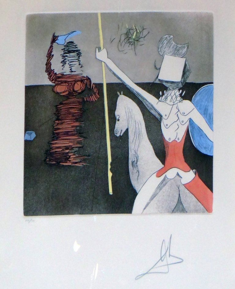 "200: Salvador Dali - ""Off to Battle"" from Don Quixote"