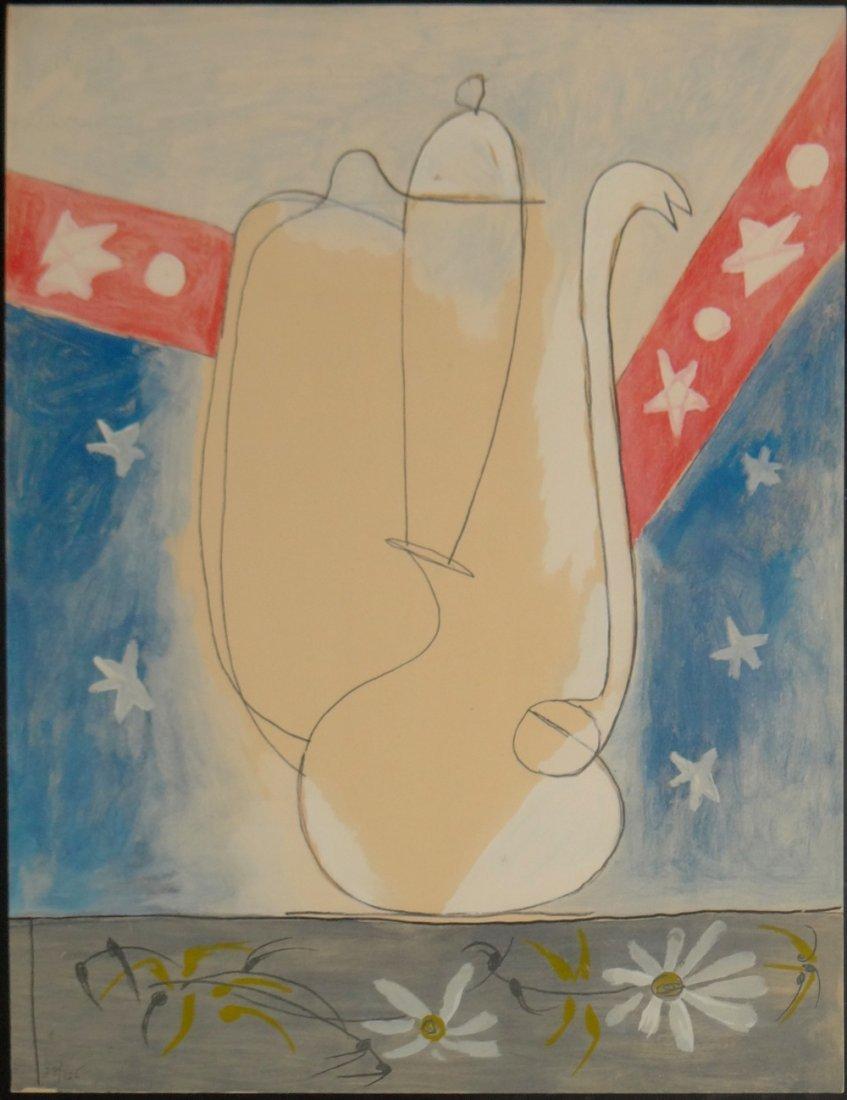 """After Pablo Picasso """"Faunes et Flore d'Antibes"""""""