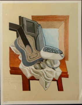 After Juan Gris offset lithograph