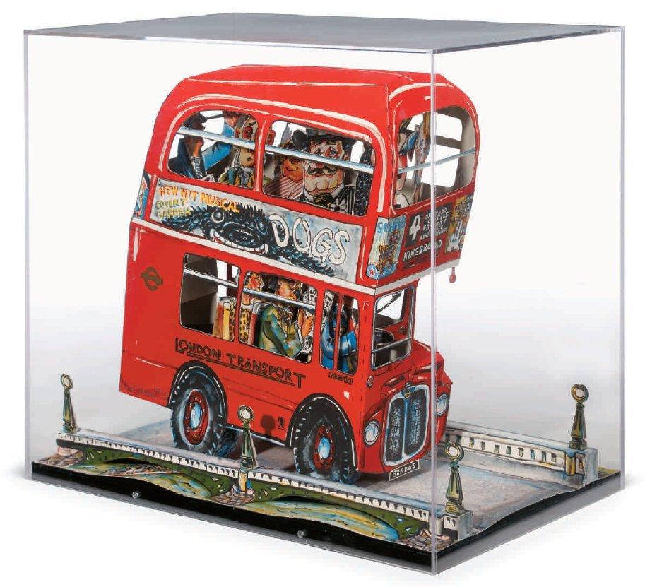 "Red Grooms - ""London Bus"""