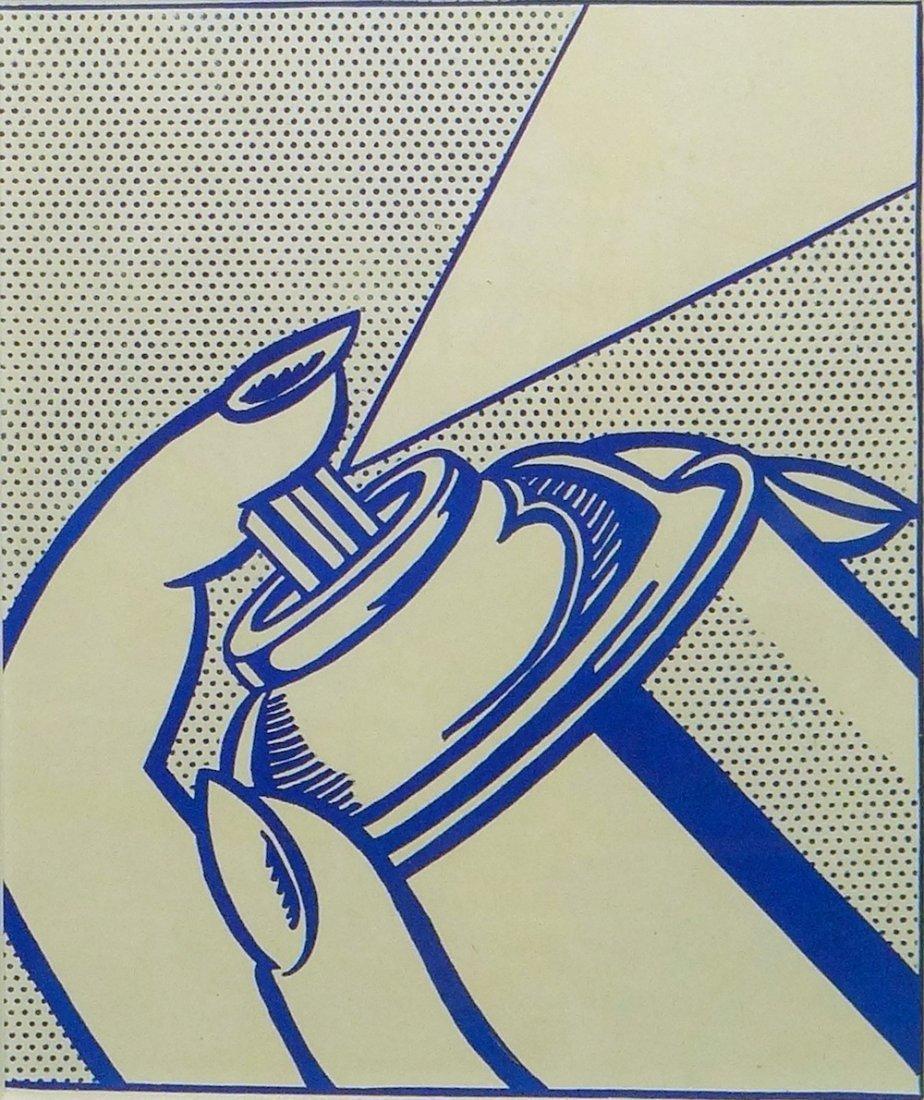 Roy Lichtenstein Spray Can