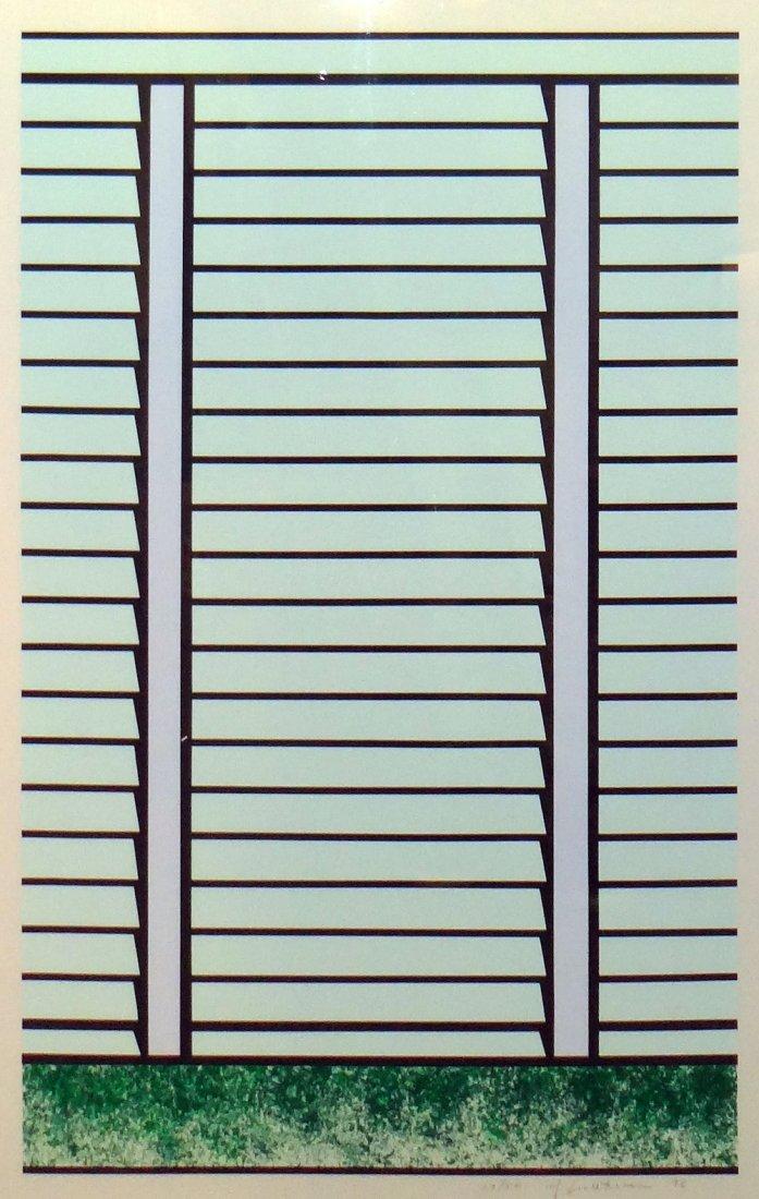 """Roy Lichtenstein """"Venetian School I"""" lithograph/serigra"""