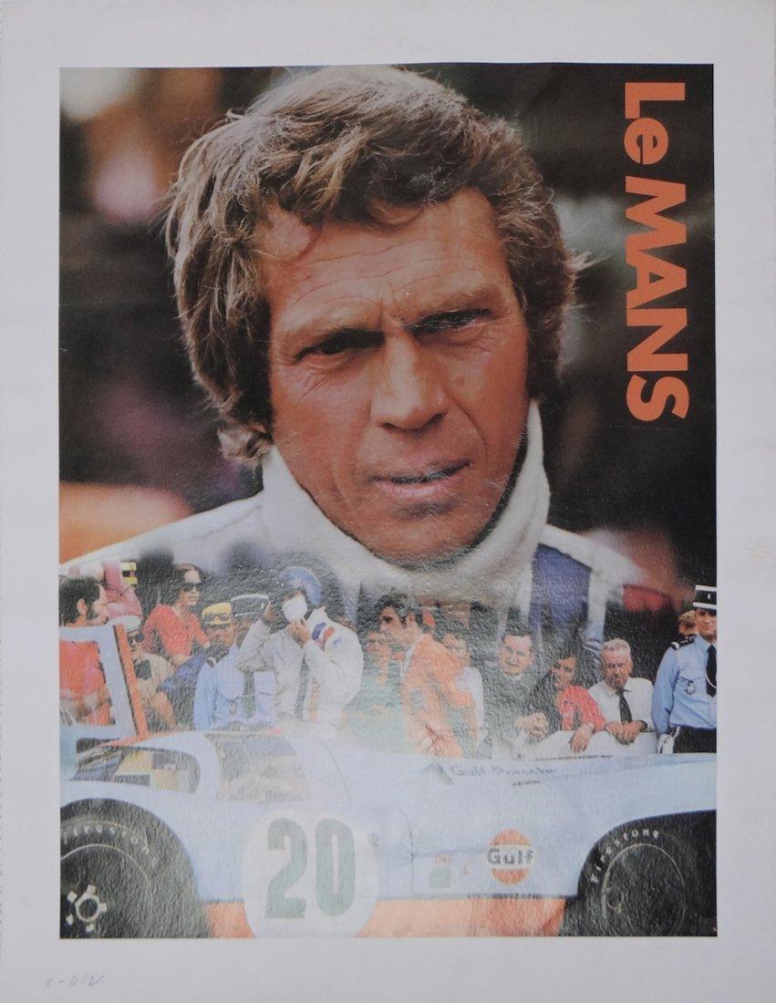 Steve McQueen Le Mans Poster