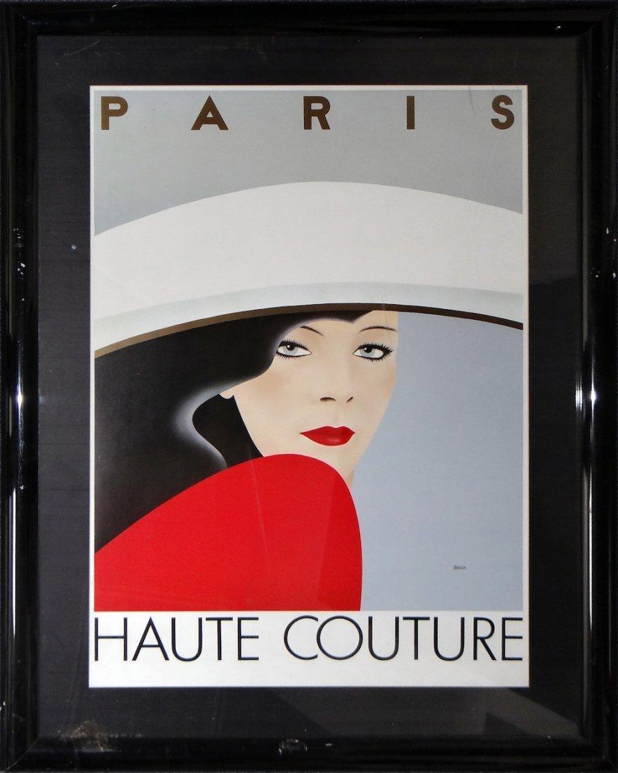 Paris Haute Couture poster