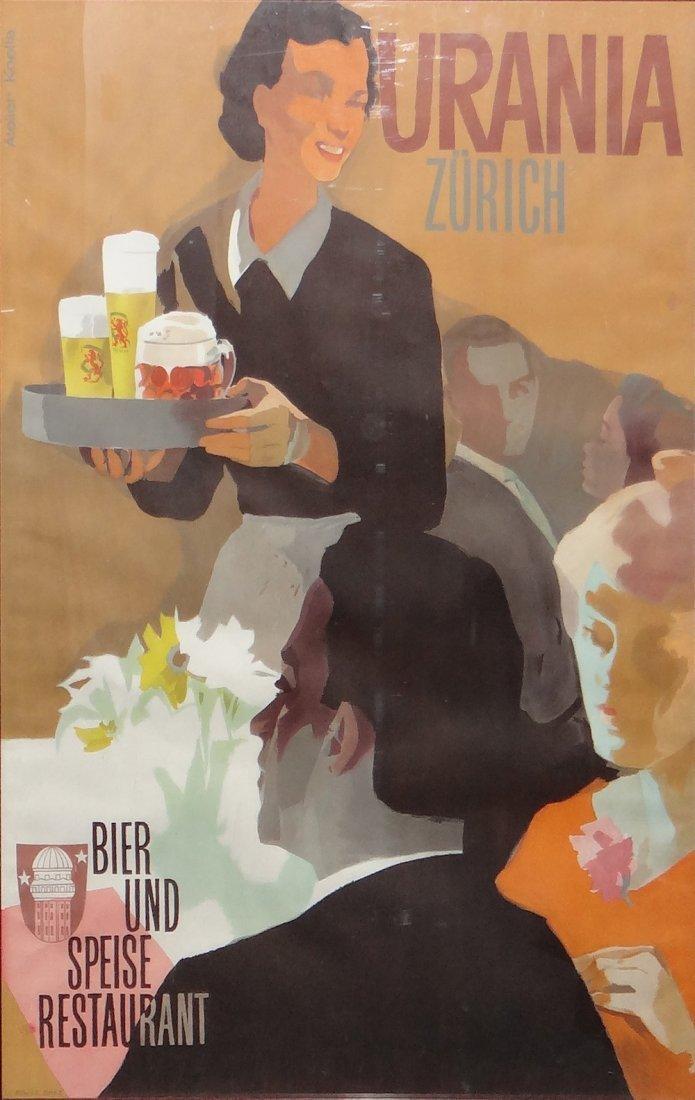 Zurich Coffee Poster