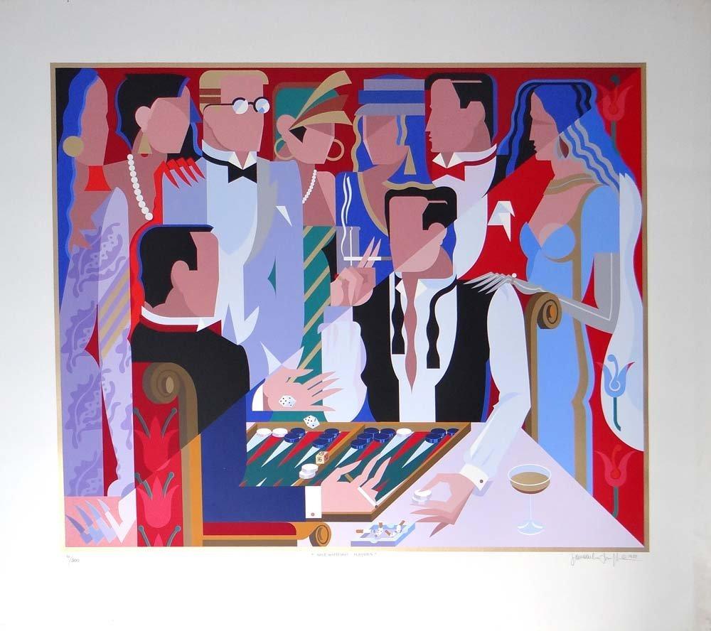 "Giancarlo Impiglia ""Backgammon Players"""