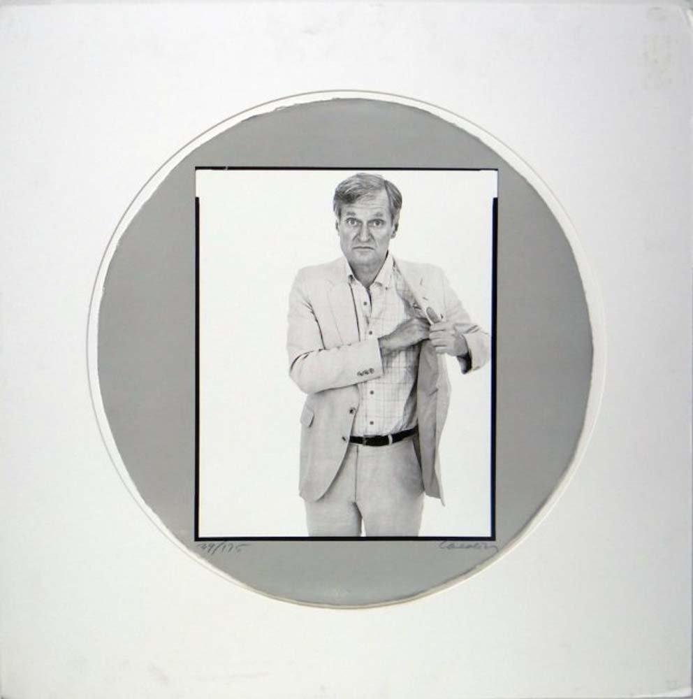 "Richard Avedon ""Self-Portrait in a Convex Mirror"""