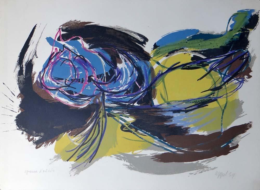 """Karel Appel """"Bird of Breaking Day"""""""