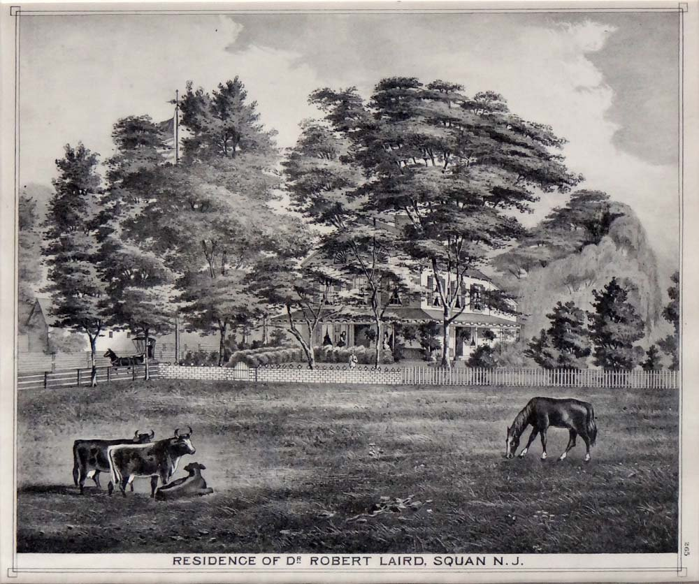 """T.F. Rose """"Residence of Dr Robert Laird"""""""