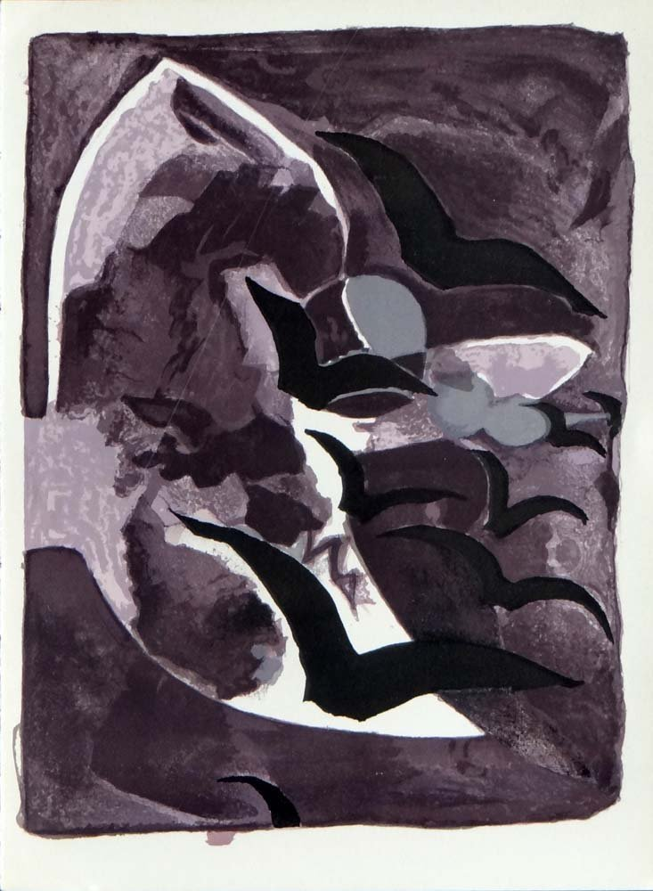 """Georges Braque """"Les Oiseaux de nuit"""""""