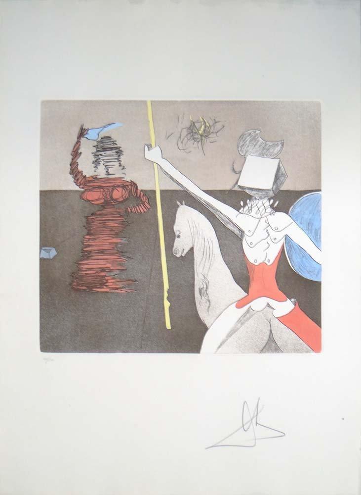 "Salvador Dali - ""Off to Battle"" from Don Quixote"
