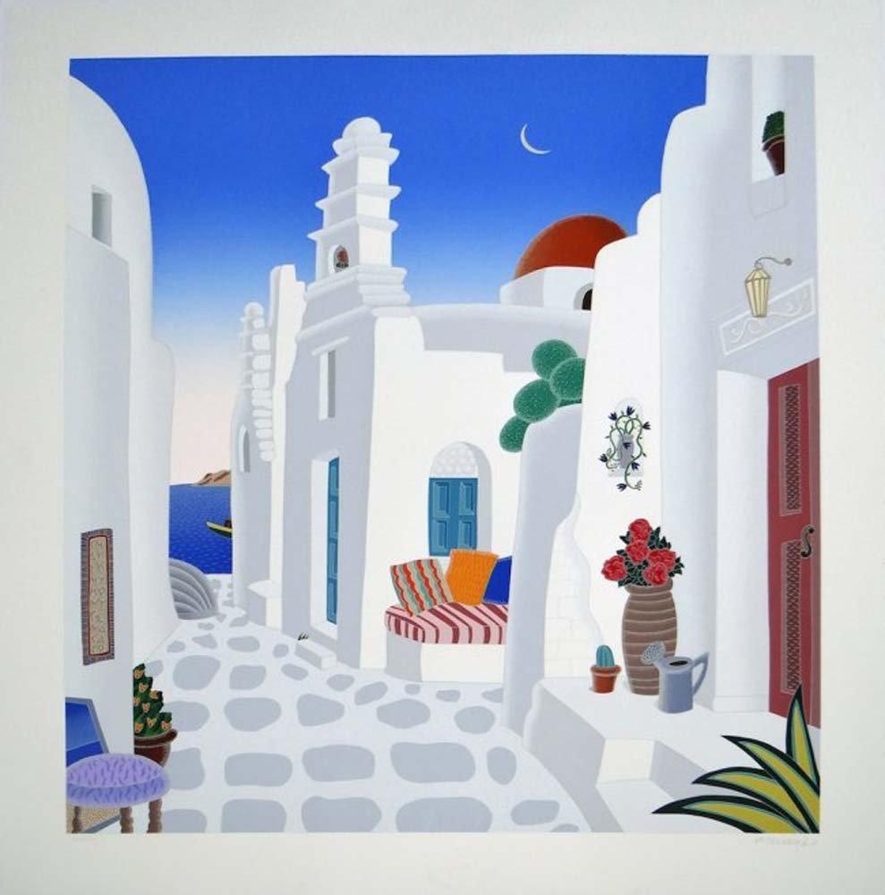 "Thomas McKnight ""Aegean Chapel"""