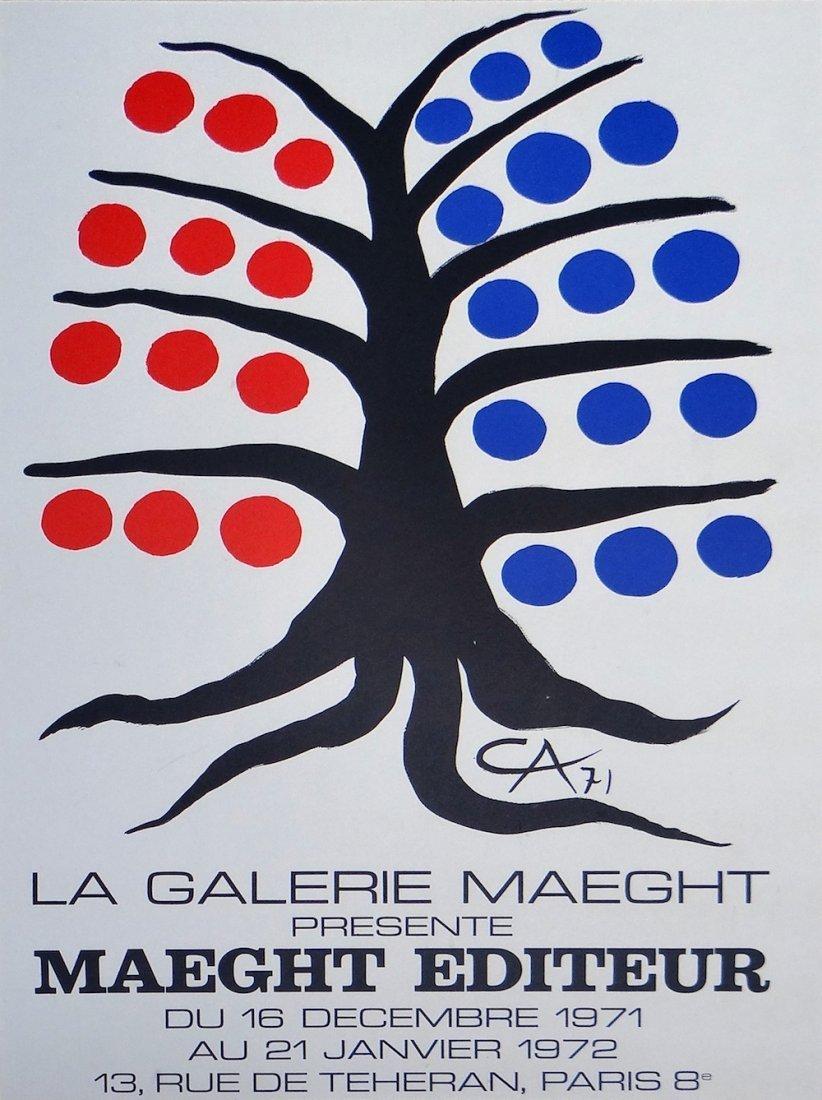 "Alexander Calder ""Tree"""