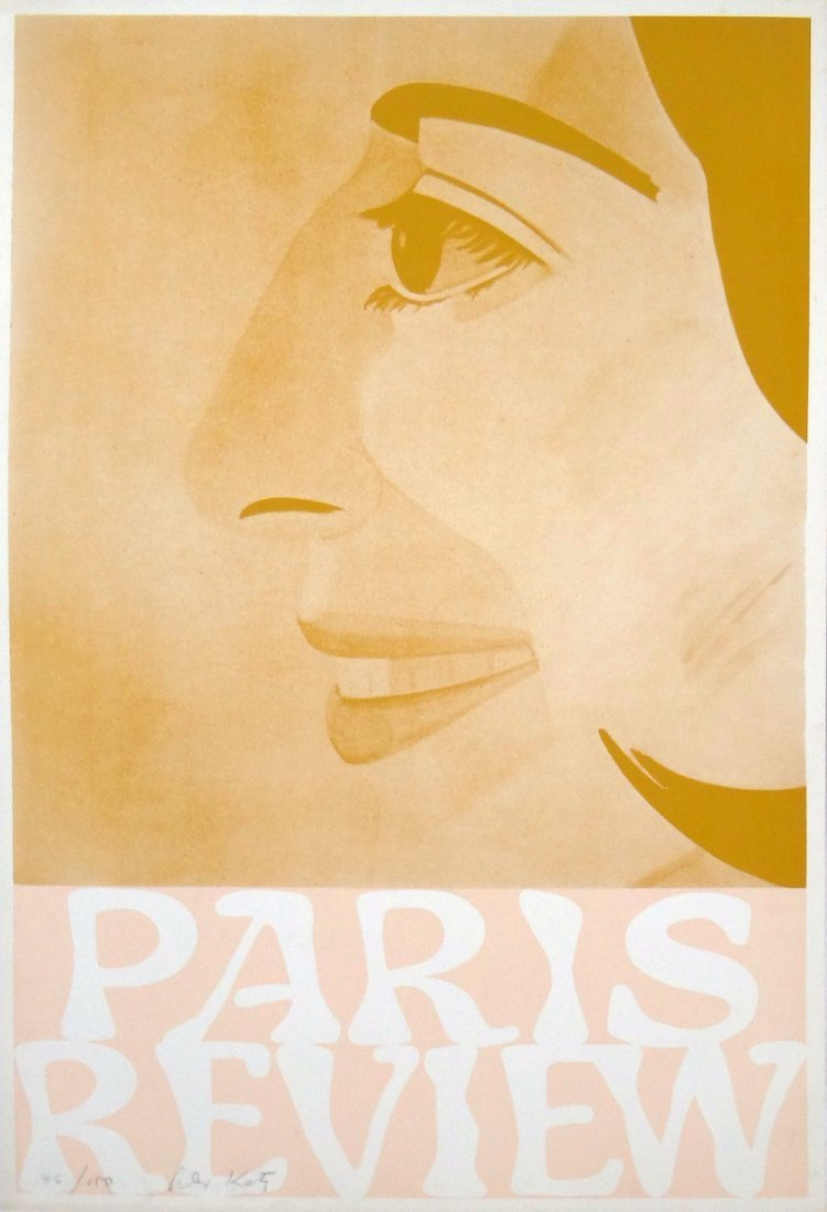 "Alex Katz ""Paris Review"""