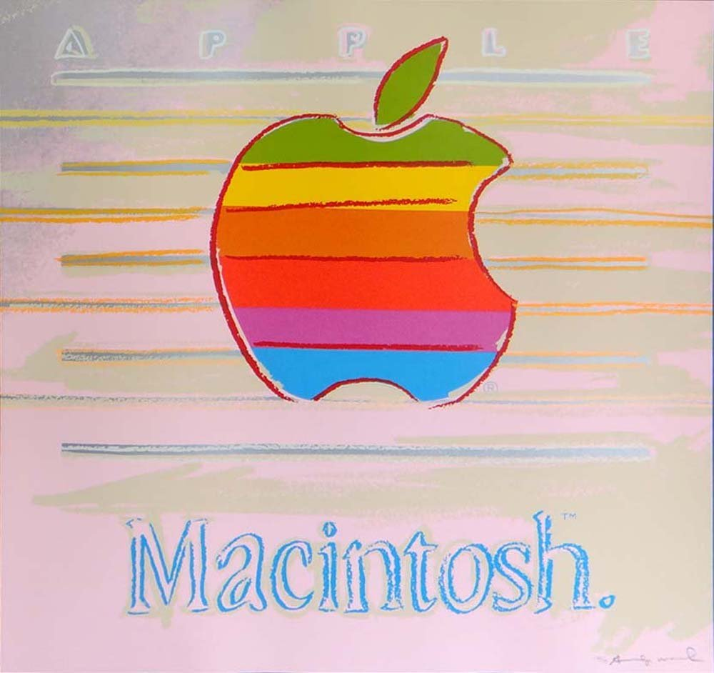 "Andy Warhol ""Apple"""