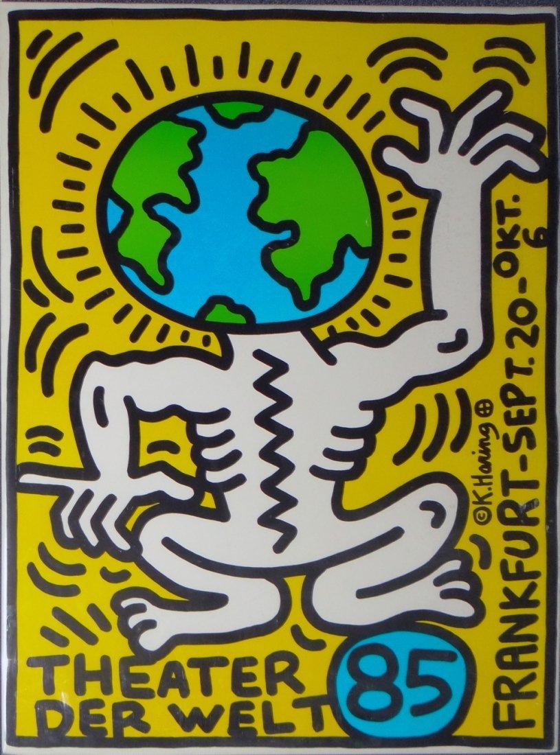 """Keith Haring """"Theatre der Welt"""""""