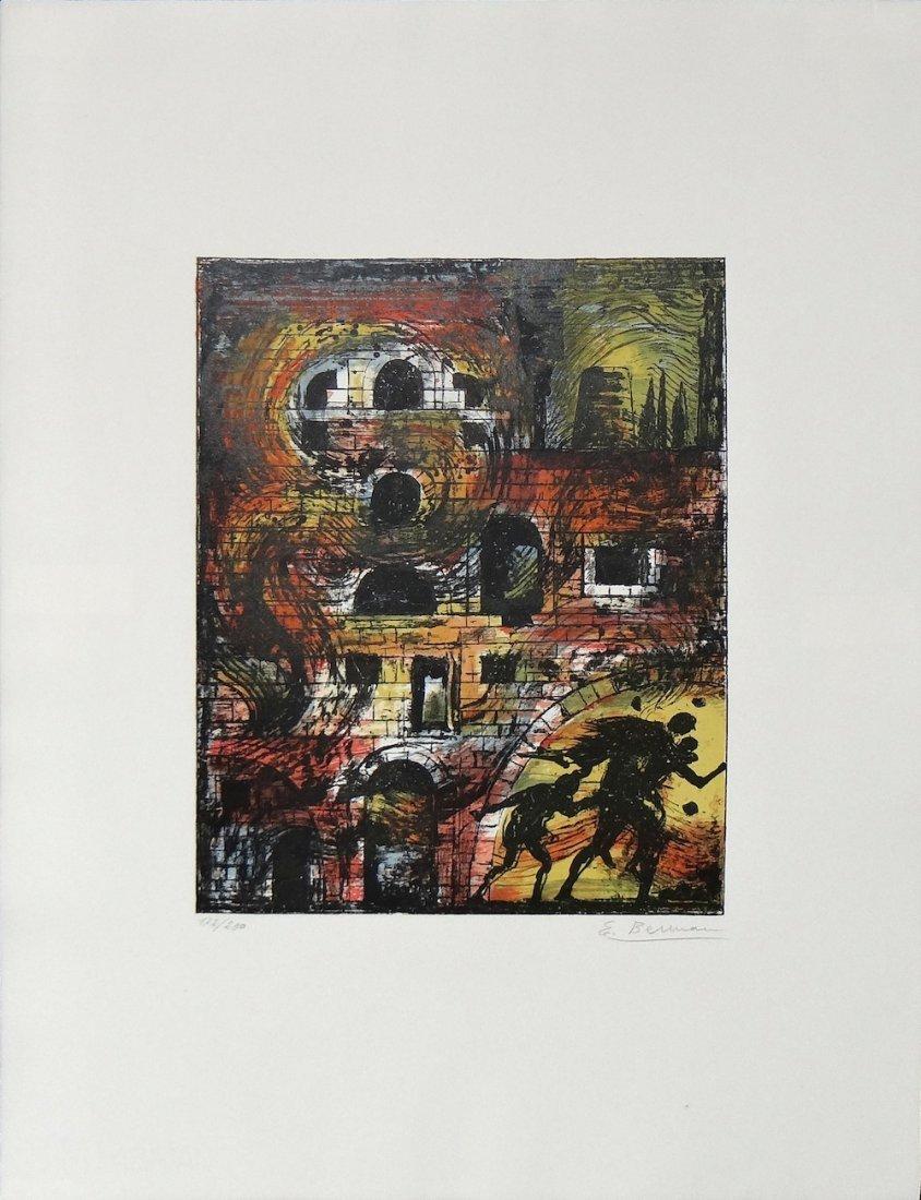 "Eugene Berman ""Untitled from Flight Portfolio"""