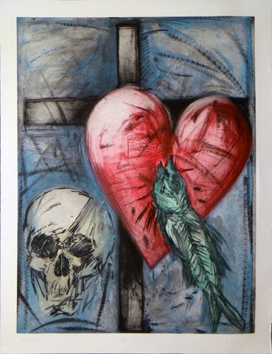 """Jim Dine """"The Garrity Necklace"""""""