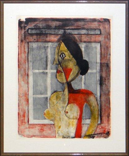 "Rufino Tamayo ""Retrato de Mujer"""
