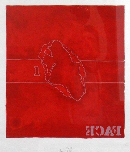 "Jasper Johns ""Face"""