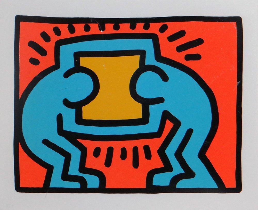 """Keith Haring """"Pop Shop VI"""""""