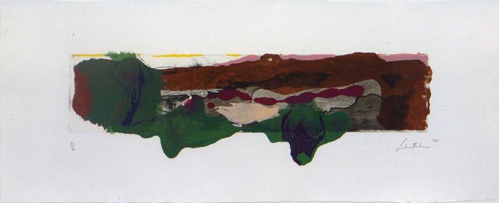 """Helen Frankenthaler """"Page from a Book II"""""""