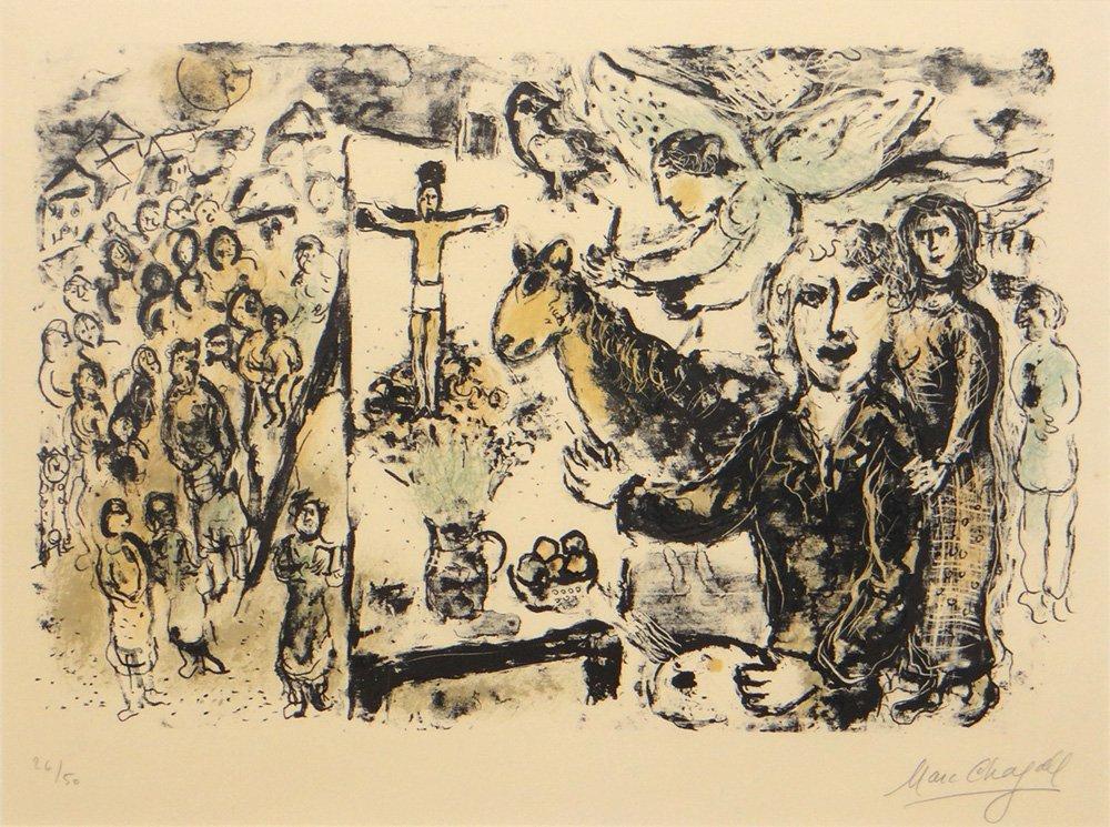 """Marc Chagall """"L'Artiste et Themes Bibliques"""""""