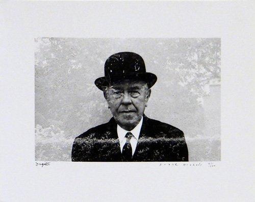 "Duane Michals ""Portrait of Magritte in his Garden,"