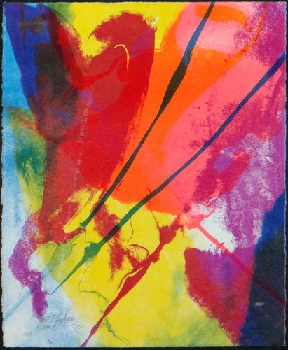 "Paul Jenkins ""Phenomena Tide Finder"""