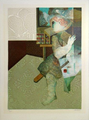 """Sunol Alvar """"Le Peinture et sa Realiste"""""""