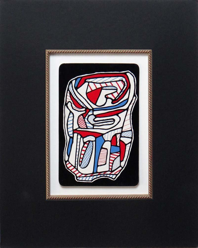 "Jean Dubuffet one plate from ""Banque de"