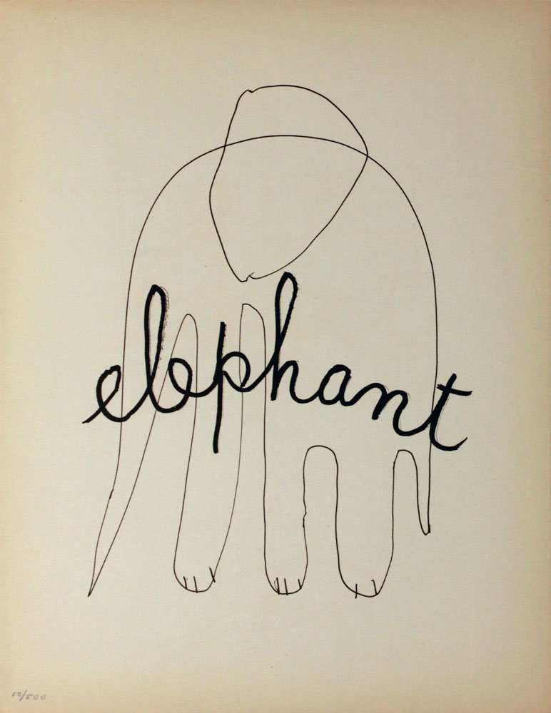"Man Ray ""Elephant"""
