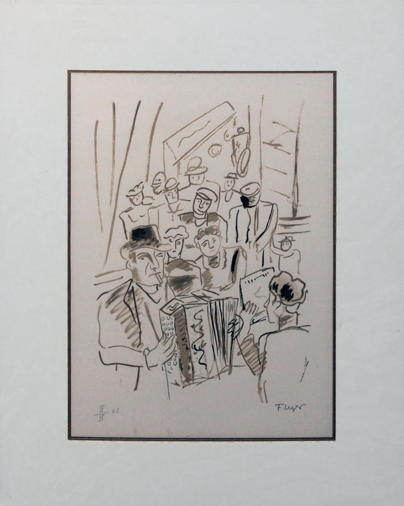"Fernand Leger, one plate from ""La Ville"""