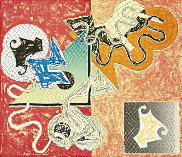 "Frank Stella ""Shards IV"""