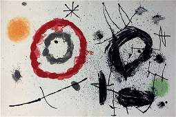 """Joan Miro """"Bouquet de Reves pour Neila"""""""